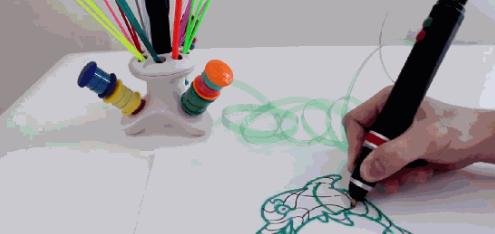 Renegade开发3D打印笔:节约成本又环保