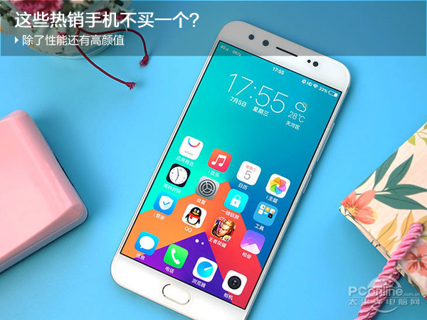 """4款""""内外兼修""""的手机横比 荣耀9/金立S10/vivo x9s/OPPO R11哪个最强?"""