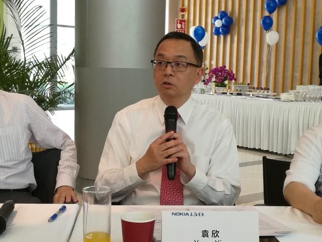 袁欣出任上海诺基亚贝尔党委书记兼董事长