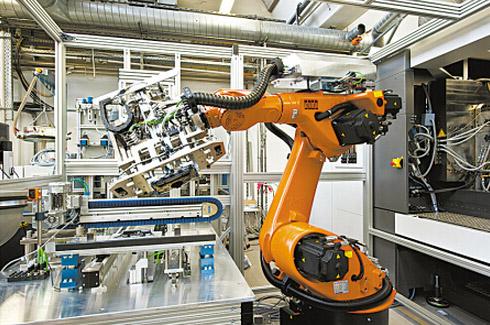 中国加快工业自动化发展进程 机器人发展迅猛