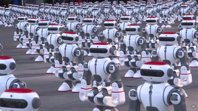 1069台Dobi機器人同時共舞創金氏世界紀錄!