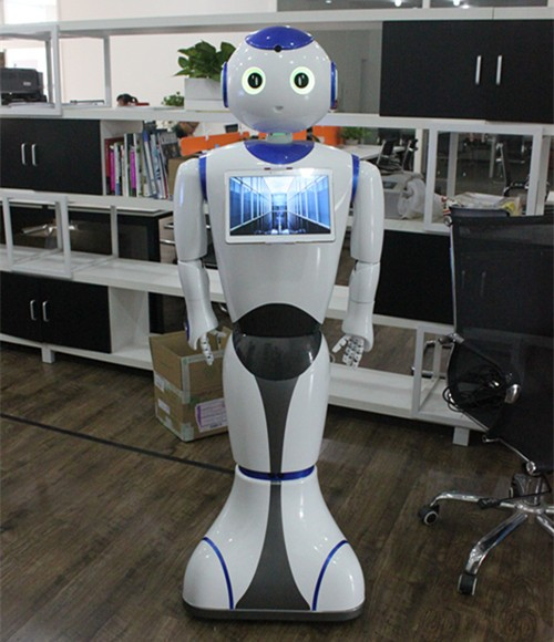 伊娃机器人隆重亮相OFweek 2017中国工业自动化及机器人在线展