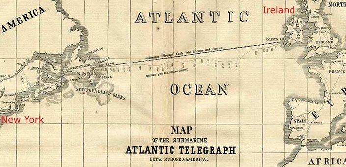 史上最全的世界海底通讯电缆地图发布