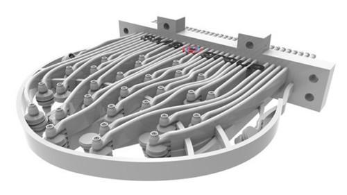 SMS使用3D打印生产用于锻压机的3D喷头