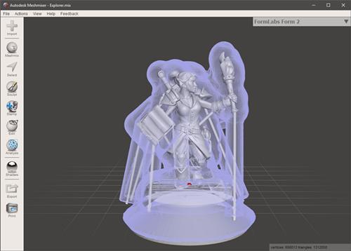 """如何使用3D打印的""""高温""""树脂模具直接铸造金属部件"""