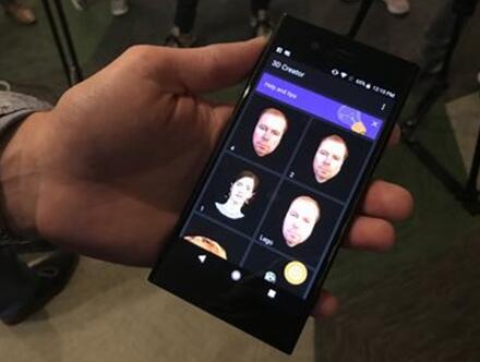 索尼新款Xperia手机拥有3D扫描功能