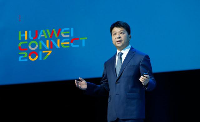 郭平讲述华为云经典故事:有能力、也有决心成为全球5朵云之一