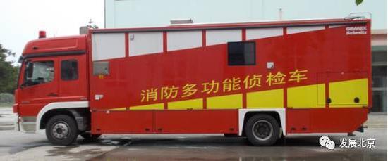 北京市高层灭火有了机器人