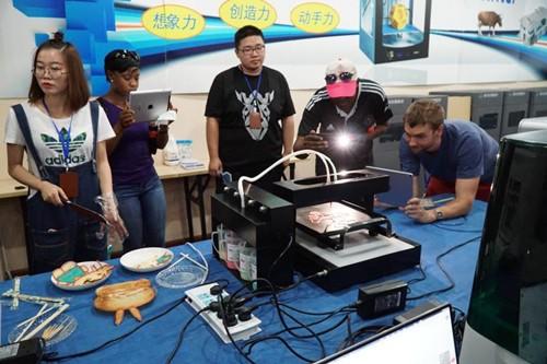 浙江3D打印产业引来南非高校教师团
