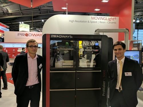 3D打印巨头PRODWAYS收购INTERSON-PROTAC 75%股权