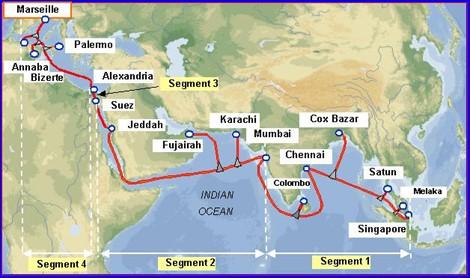 孟加拉国第二条国际海底光缆系统投产