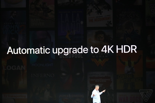 不到1200!苹果新TV发布:支持4K 玩游戏更爽