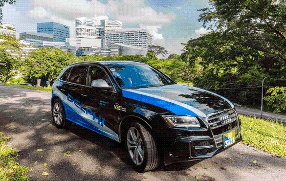 德尔福与黑莓合作开发自动驾驶软件系统