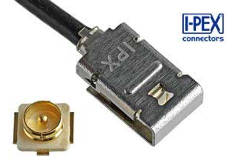 行业中的创举 I-PEX内置锁扣功能的新款射频连接器
