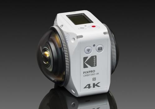 重整旗鼓再出发 柯达推360°VR相机ORBIT360 4K