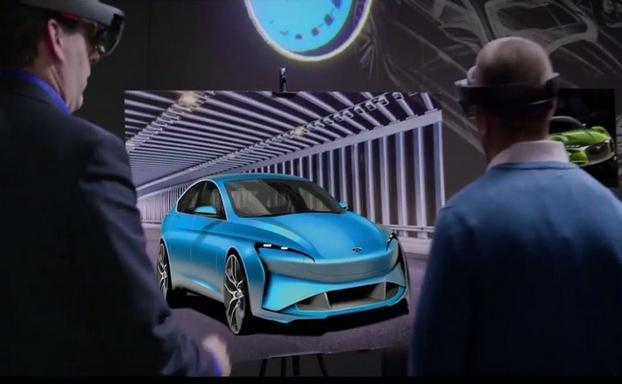 AR技术助力福特革新汽车设计程序