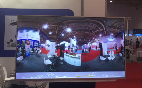 中日韩产业博览会召开 IDEALOEYE提供现场VR直播