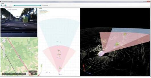 Vector Informatik公司ADAS开发工具支持多种传感器