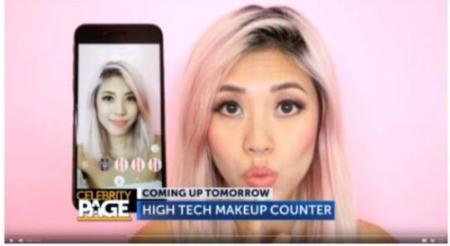 苹果零售店演示机预装美妆相机 AR领域成共同关注点