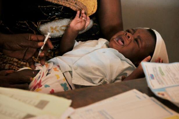 研究发现:针对2岁以下婴孩伤寒疫苗已通过试用
