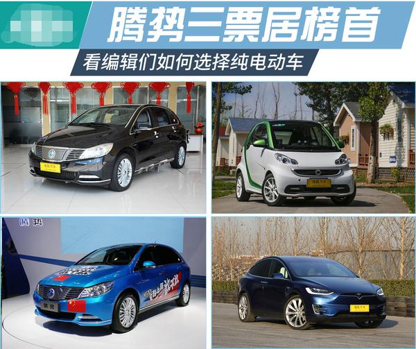 编辑大实话:纯电动车我们会如何选择?