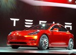 """特斯拉""""超级工厂""""将为Model 3生产电机"""