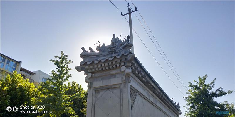 烈日下依旧清晰 vivo X20逆光拍摄拍秋日北京