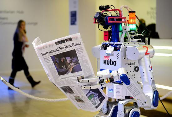 机器人将取代人工进入零售金融领域?57%英国人赞同对机器人征税