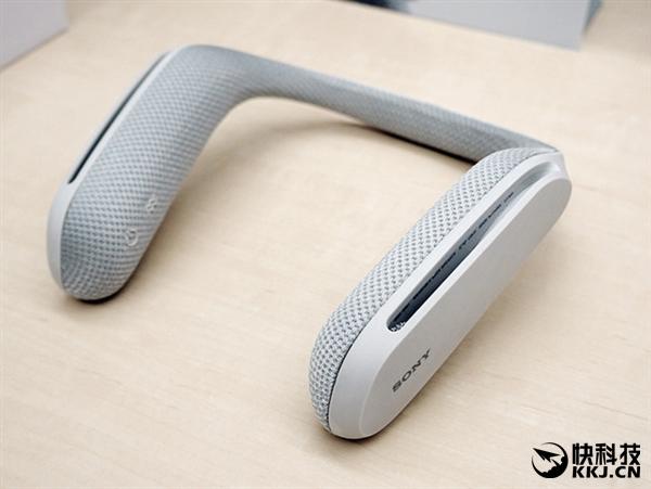 不喜欢戴耳机?索尼推出肩扛式扬声器SRS-WS1
