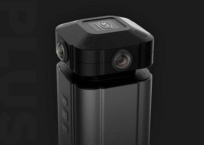 8k超清体验 得图F4 Plus VR全景相机上市在即