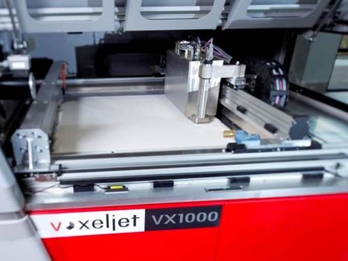 VOXELJET推出用于其VX200系统的新型塑料3D打印工艺