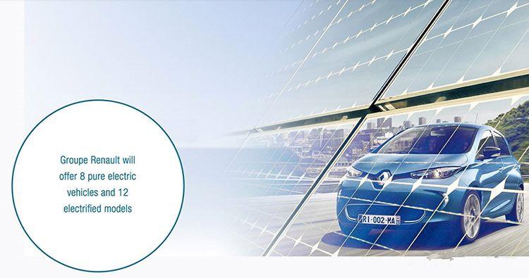 发力新能源 雷诺发布Drive The Future新车计划