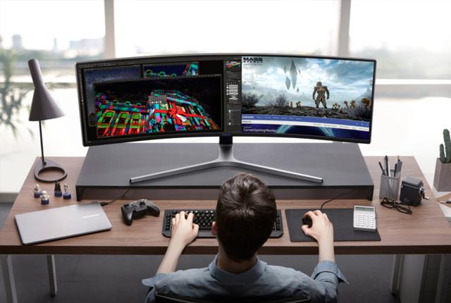 游戏+视频 三星将发布史上最狂野电脑显示器