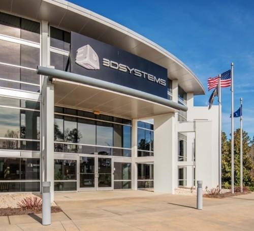3D Systems总部大楼以860万美元的价格出售给3D Fields LLC