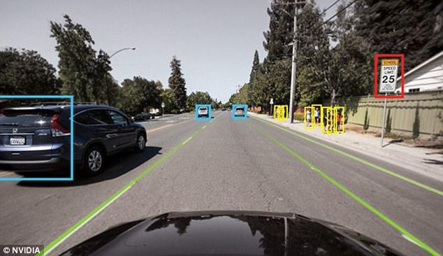 英伟达推新一代AI芯片 用于全自动无人驾驶车辆