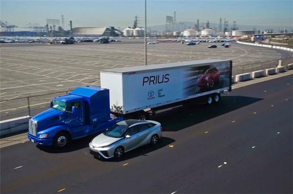 丰田在美测试燃料电池卡车 续航里程逾200英里