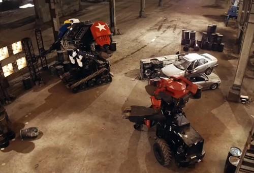 美日巨型机器人大赛 结果令人失望
