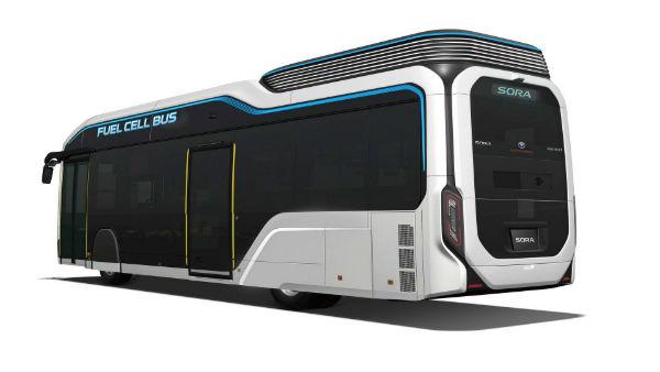 丰田Sora燃料电池概念巴士预告图 将亮相东京车展