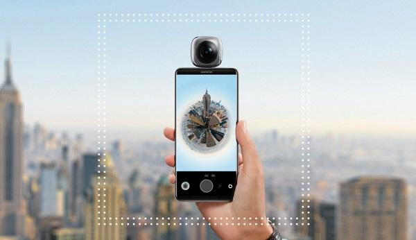 不止手机 华为EnVizion 360度摄像头同时发布