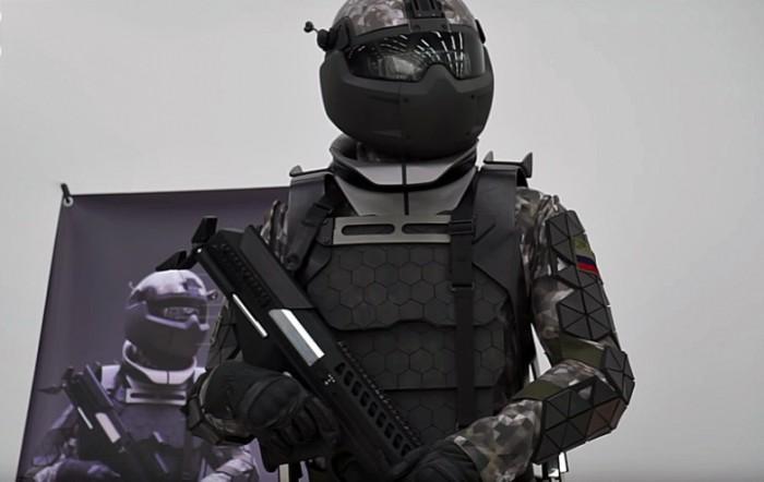 俄罗斯展示未来士兵装备:防核手表
