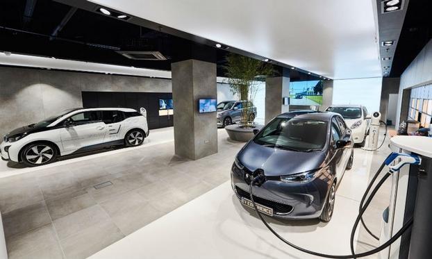 多品牌电动车体验中心 电动车推广新形式