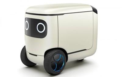 AI架起人车沟通桥梁 本田推出全自动多功能移动机器人