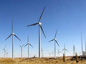 陕西韩城50兆瓦风力发电项目开工建设
