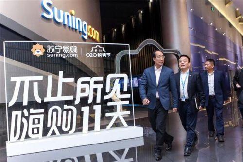 创维刘棠枝亲赴苏宁 双方力推OLED电视