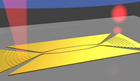 实验室首发非玻璃光电元器件 实现单元光纤数据连接