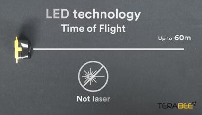 Terabee为无人机应用推出新一代LED飞行时间测距传感解决方案