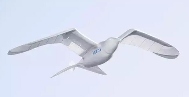 Festo推出一款会飞的机器鸟