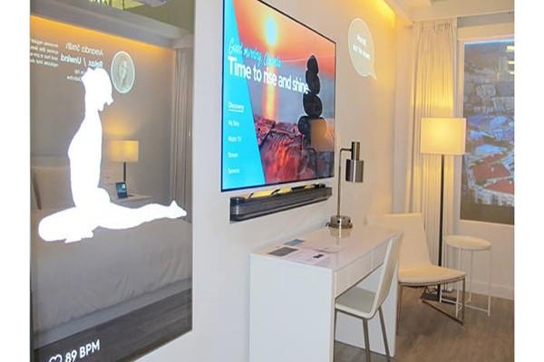 三星展示物联网酒店客房 让所有设备互通互联