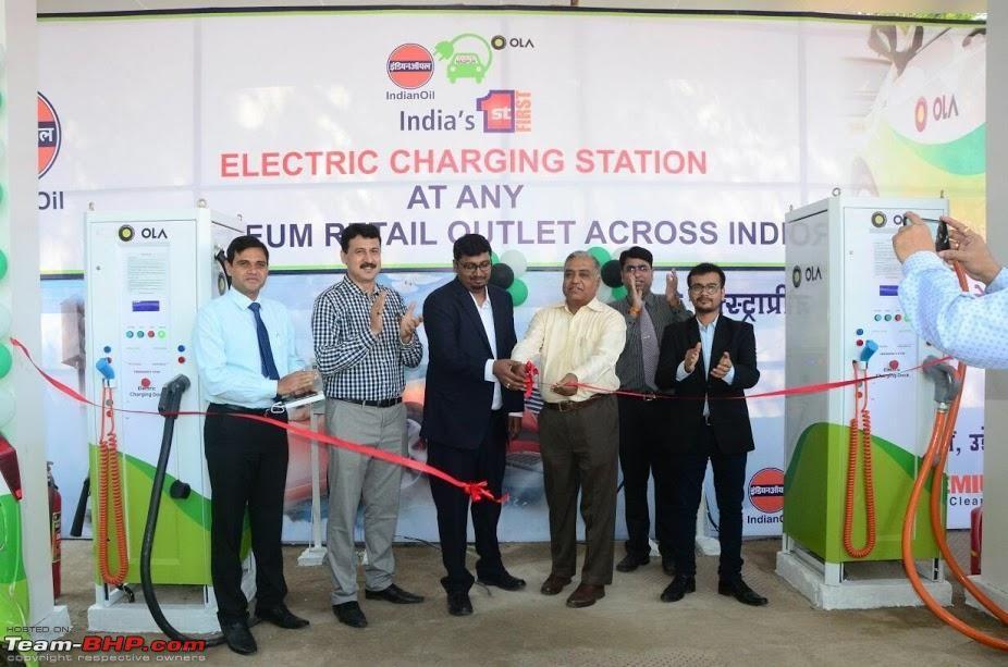 印度国家石油公司建国内首座电动汽车充电站