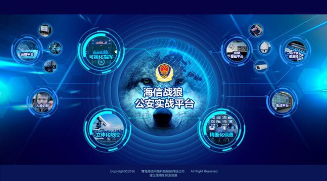 """12小时精准追凶 海信""""狼图腾""""系列安防产品发布"""